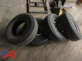 Mixed LT Truck Tires
