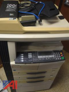 Kyocera KM 2050 Printer Copier and IBM Typewriter