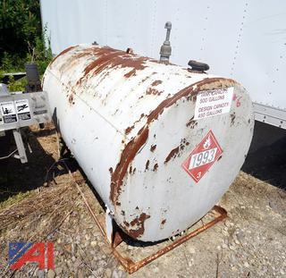500 Gallon Heating Oil Tank