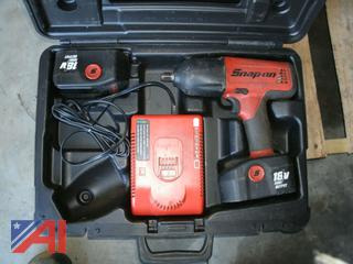 "1/2""  Drive Snap-On Cordless Impact Wrench"