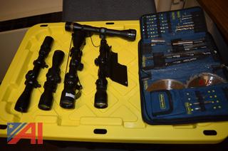 Firearm Scopes and Tool KIt