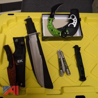 Various Handheld Knives