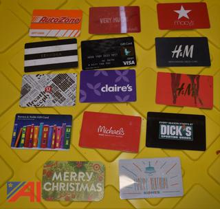 Assorted Gift Cards #2