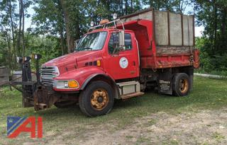 2006 Sterling Acterra Dump Truck with Plow and Wing