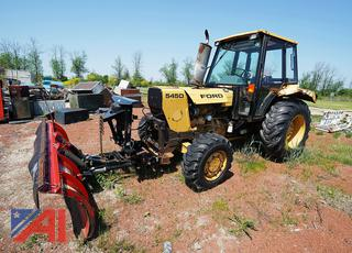 1997 Ford/New Holland 545D Tractor with Plow/30