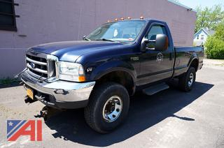 2004 Ford F250 XL Super Duty Pickup Truck with Plow/29