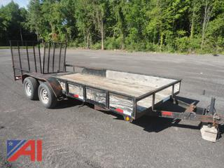 2006 Hurst Utility Trailer with Ramps