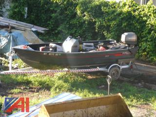 1990 Fisher Boat with Trailer