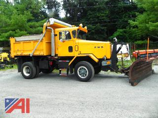 1986 FWD RB Dump Truck with Plow and Sander