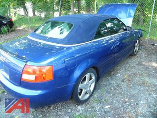 (#2) 2003 Audi A4 Convertible 2 Door