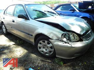 (#3) 2000 Honda Civic DX 4 Door Sedan