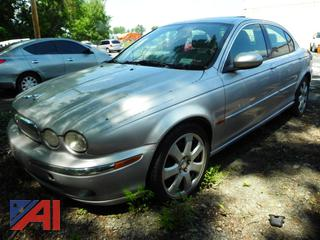(#4) 2004 Jaguar X-Type 4 Door Sedan