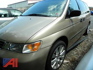 (#7) 2001 Honda Odyssey Van