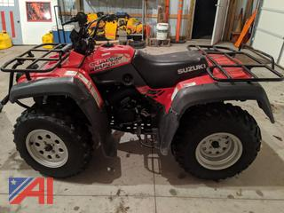 2000 Suzuki Quad Runner 500 Four Wheeler/ATV