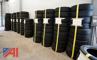 Large Lot Used Tires 225/75R16