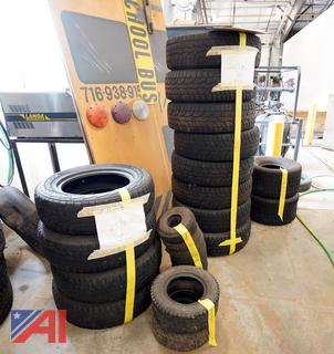 Assorted Size Used Tires