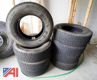 Used Tires LT245/75/R17