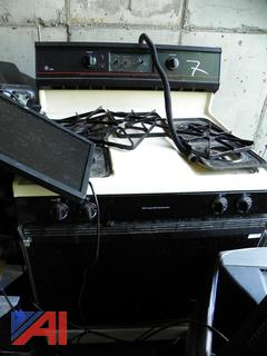 (#7) GE XL44 Gas Range