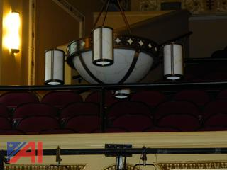 (#10) Auditorium Light Fixtures