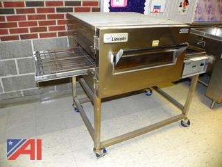 (#11) Lincoln 1130-000-U Impinger II 1100 Series Single Belt Electric Conveyor Oven