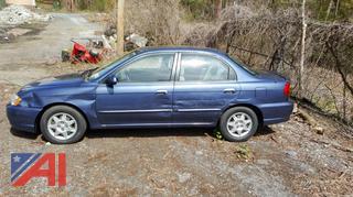 2004 Kia Spectra 4 Door Sedan