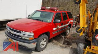 2006 Chevy Tahoe Suburban/Emergency Vehicle