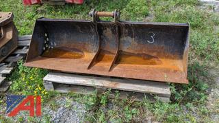 Mini Excavator Ditching Bucket