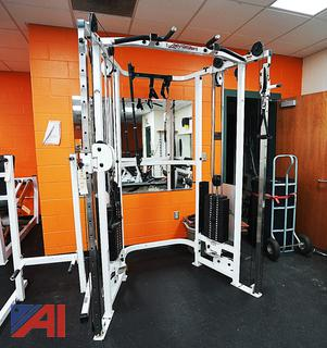 Life Fitness #SM22 Dual Adjustable Pulley Cable Machine