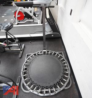 Plyo Rebounder/Ball Trampoline By Total Gym