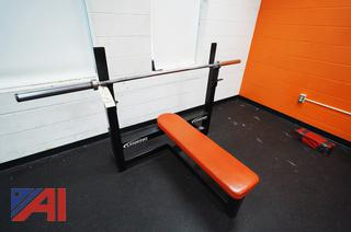 Legend Fitness Bench Press With Heavy Bar