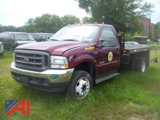 2004 Ford F550 Dump Truck