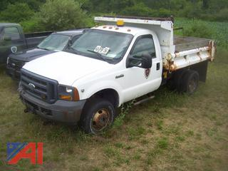 2006 Ford F350 Dump Truck with Plow