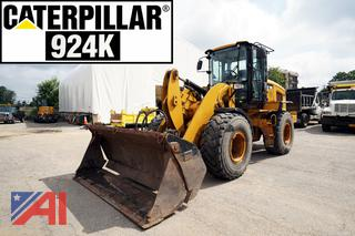 2012 CAT 924K Articulated Wheel Loader with Attachments/912