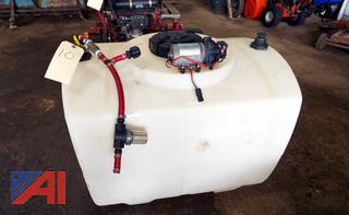 100 Gallon Poly Water Tank