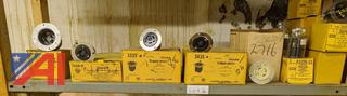 Flange Receptacles, New/Old Stock