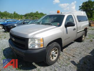 2007 Chevy Silverado 1500 Pickup Truck with Cap