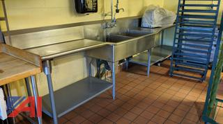2-Bay Stainless Steel Sink