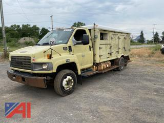2009 GMC C5C042 Delivery Truck (Parts Only)