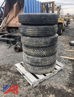 Steer and Traction Tires