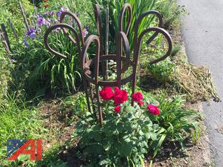 Wrought Iron Garden Plant Stands