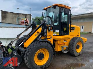 2008 JCB 411HT Wheel Loader
