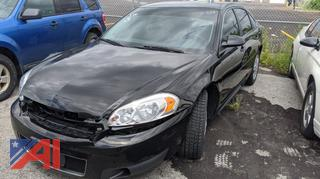 2016 Chevy Impala 4 Door/Police Package