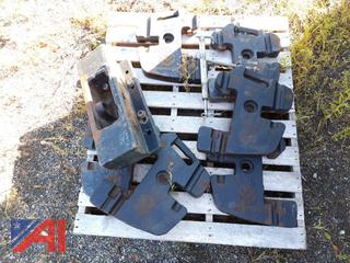 Assorted New Holland Front Mount Tractor Weights