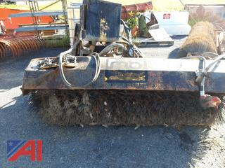 MB 8' Front Hydraulic Sweeper Broom