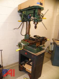 (#5) Jet-16 12 Speed Drilling and Milling Machine