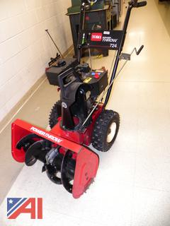 (#7) Toro Power Throw 724 Snowblower