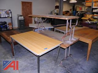 (#14) Various Size & Shaped Tables
