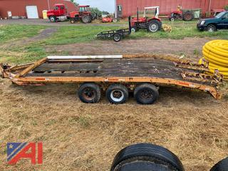 1972 Tri Axle Equipment Trailer