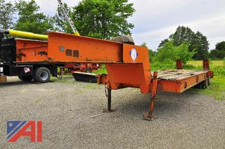 1974 Rogers Low-Boy Trailer with Ramps