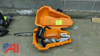 Stihl Chainsaw & Case